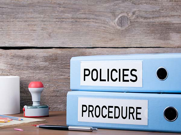 Image of Policies & Procedures Notebooks